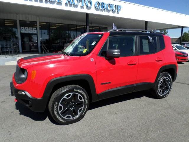2015 Jeep Renegade Trailhawk Reno Tahoe Auto Group